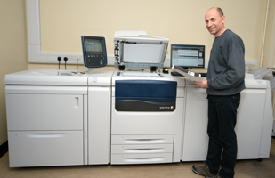 Lawrence Floate and the Xerox J45 printer