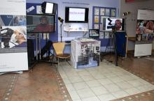 Video Production Display at CUH